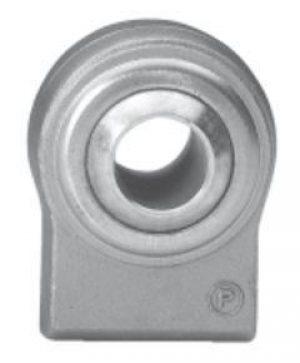 Terminale a snodo sferico ad estremità rettangolare - fianchi diritti (SR...)