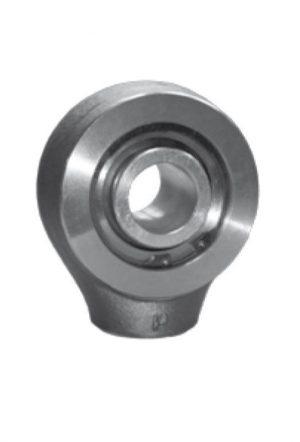 Terminale a snodo sferico ad estremità rotonda con filettatura interna - rotula smontabile (SR...)