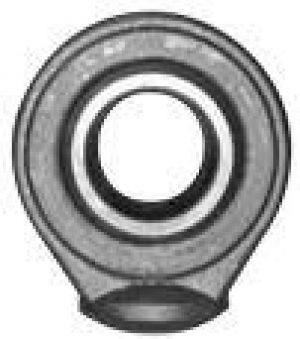 Terminale a snodo sferico ad estremità rotonda per cilindri idraulici da saldare